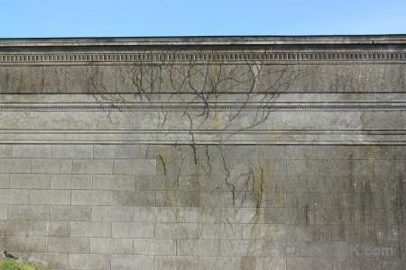 Wall gray.