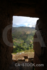 Wall ruin urubamba valley sky inca.