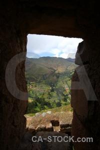 Wall ruin urubamba valley sky inca.