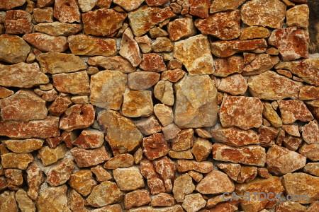 Wall texture stone europe javea.