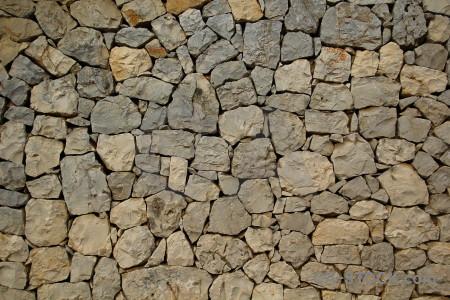Wall texture stone spain europe.