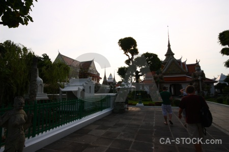 Wat arun person thailand sky buddhist.