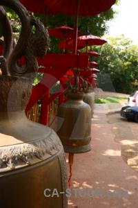 Wat phan tao chiang mai tree thailand buddhist.
