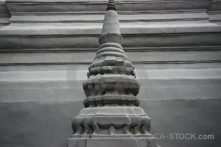 Wat phnom penh stupa southeast asia cambodia.