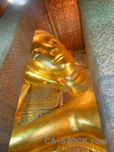 Wat pho thailand temple southeast asia gold.