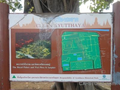 Wat phra si sanphet southeast asia unesco map thailand.