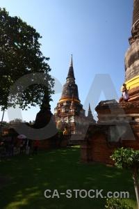 Wat yai chai mongkhon ayutthaya buddhist person asia.
