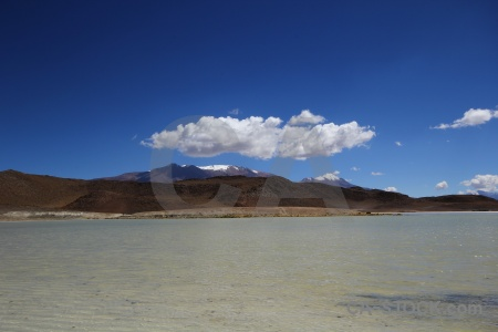 Water andes cloud altitude bolivia.