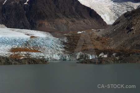 Water andes patagonia terminus lake.