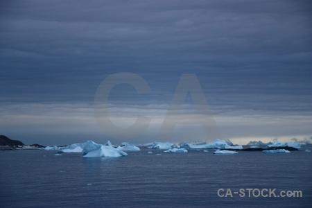 Water antarctica cloud mountain sky.