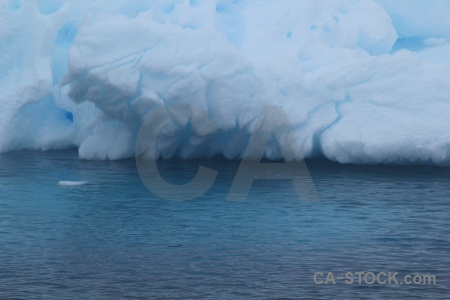 Water antarctica crystal sound iceberg cruise.
