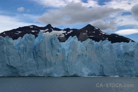 Water argentina lago argentino ice glacier.