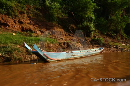 Water asia river vehicle boat.