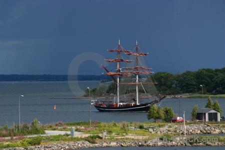 Water boat sky sail europe.