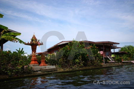 Water building ton khem sky thailand.