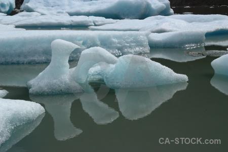 Water circuit trek chile torres del paine iceberg.