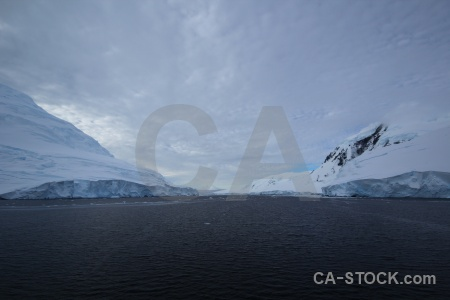 Water cloud channel snow antarctic peninsula.