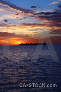Water colonia del sacramento sunset uruguay cloud.