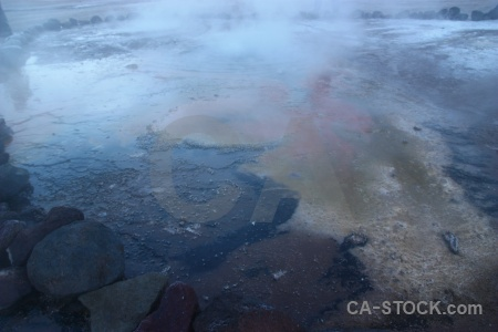 Water el tatio chile andes rock.