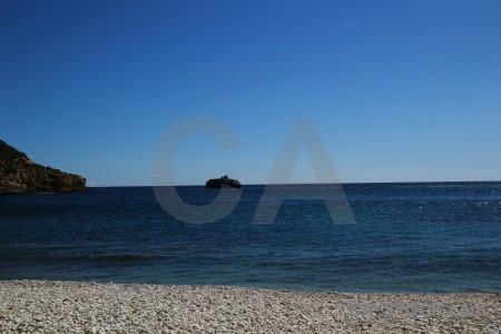 Water europe spain coast javea.