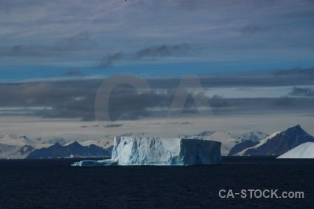 Water iceberg snow south pole mountain.