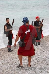 Water javea gun costume weapon.