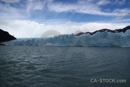 Water lago argentino glacier cloud argentina.