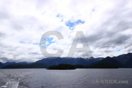 Water lake manapouri new zealand south island mountain.