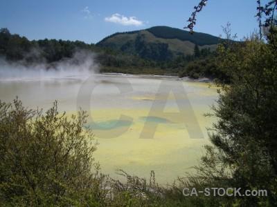 Water lake volcanic.
