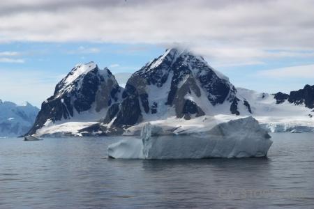 Water mountain iceberg antarctica cruise ice.