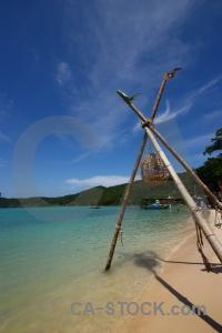 Water mountain sand ko phi don tropical.