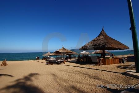 Water nha trang shadow vietnam sand.