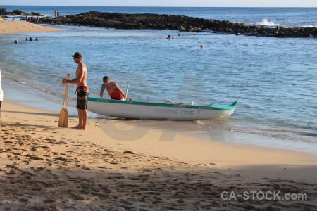 Water person sea beach.