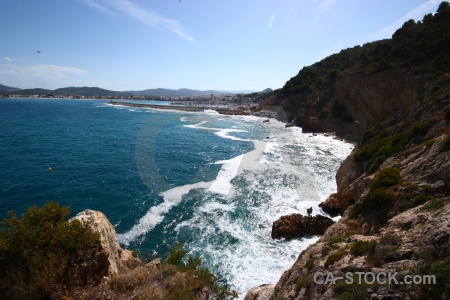 Water sea europe cloud javea.