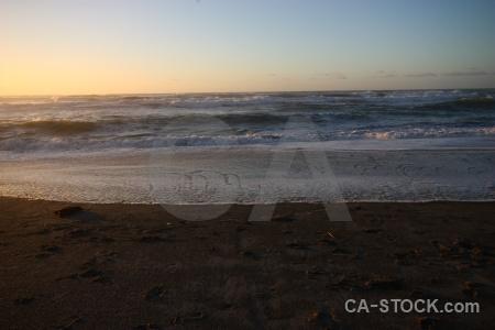 Water sea sunrise beach wave.