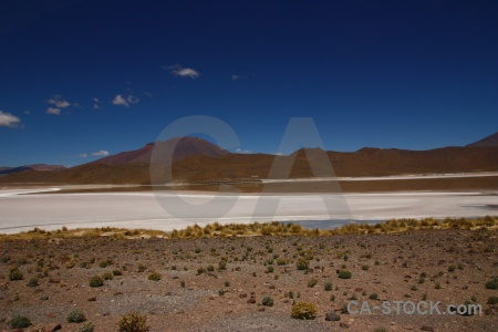 Water sky altitude lake bolivia.