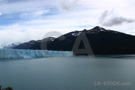 Water sky glacier lake patagonia.