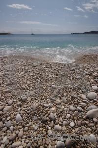 Water sky sea stone spain.