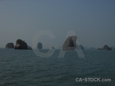 Water sky southeast asia vietnam ha long bay.