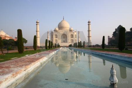 Water sky taj mahal mumtaz palace.