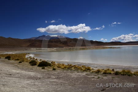 Water snowcap salt lake landscape altitude.