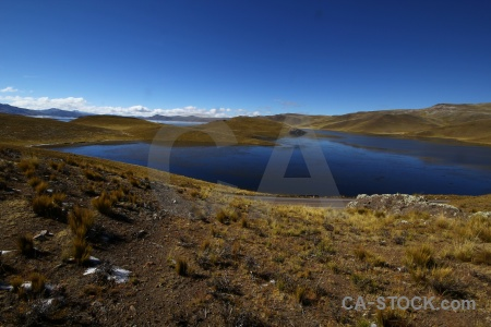 Water south america mountain andes lake.