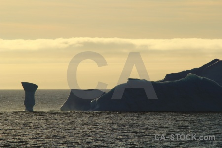 Water south pole iceberg antarctic peninsula cloud.