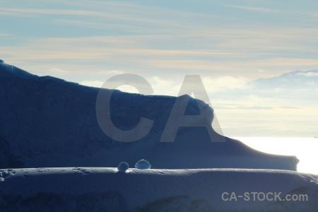 Water south pole iceberg sea day 5.