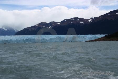 Water terminus perito moreno south america ice.