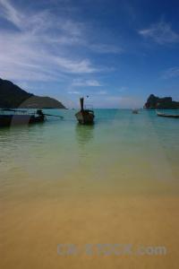 Water thailand beach loh dalam bay island.