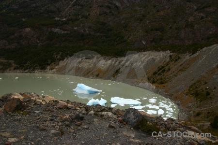 Water torres del paine mountain iceberg circuit trek.