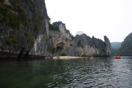 Water vietnam southeast asia beach paddle.