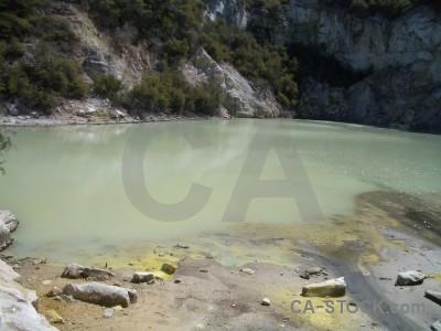 Water volcanic lake.