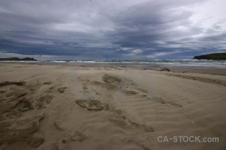 Wave owaka catlins water sand.